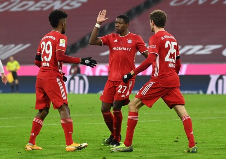 Zowel Bayern, als Leipzig vergeet zichzelf te belonen na spectaculaire wedstrijd