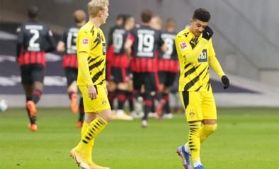 Dortmund kan ook niet winnen bij Frankfurt (1-1) en pakt slechts 1 op 6