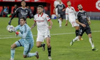 Zinedine Zidane redt (voorlopig) zijn vel bij Real Madrid na zege tegen Sevilla