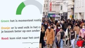 Koopzondag gaat door, maar is het veilig om te shoppen in Gent? Check de druktebarometer