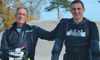 """60-jarige Belg wil record pakken in de Dakar, voor zijn zoon en het goede doel: """"Mijn pa gaat er alles aan doen om uit te rijden"""""""