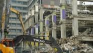 Afbraakwerken gaan snel vooruit: bunker van Belgacomtoren lijkt wel ontploft