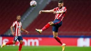 Atletico Madrid kan in de Champions League dan toch op Yannick Carrasco rekenen