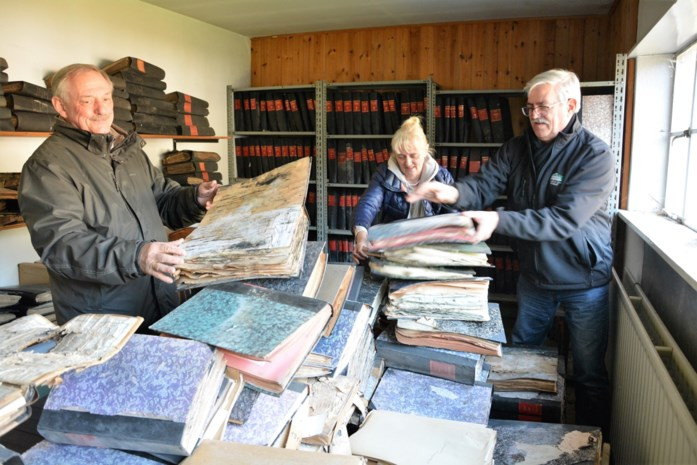 Swa vindt oorlogsverleden in 'verdronken archief van Stabroek'