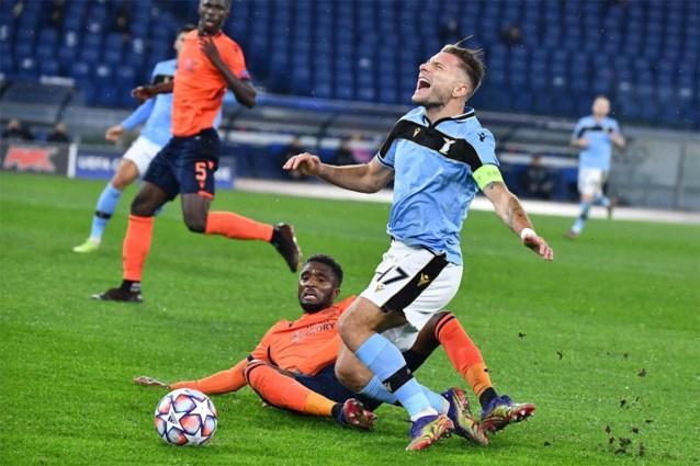 Club Brugge doet tegen Lazio zichzelf de das om in eerste helft: oerdomme strafschopfout en rode kaart (terwijl wissel klaar stond)