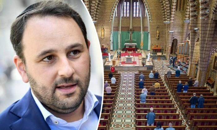 """Michael Freilich (N-VA): """"Laat christenen toch naar de kerk gaan. Onbegrijpelijk dat CD&V dit laat passeren"""""""