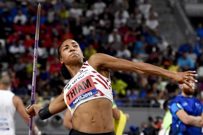 """Blessurezorgen van de baan voor olympisch kampioene Nafi Thiam: """"Ze kan haar beste niveau ooit weer bereiken"""""""