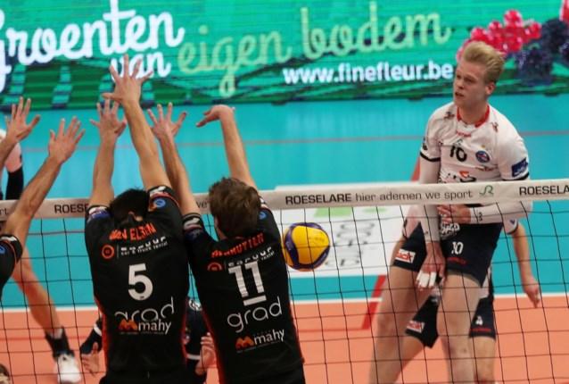 Leider Roeselare rekent vlot af met Gent, Maaseik laat bij rode lantaarn geen steek vallen in EuroMillions Volley League