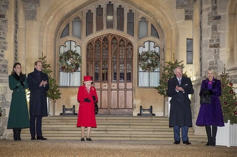Britse koninklijke familie komt sinds lang nog eens samen, maar waar is prins Philip?