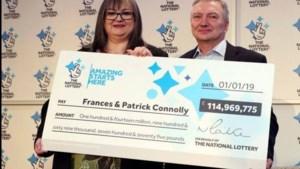 "Frances en Patrick wonnen 125 miljoen met EuroMillions: ""Al helft weggegeven"""