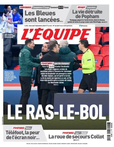 """Heel de wereld spreekt schande van racismegeval in Parijs: """"De spelers hebben STOP gezegd"""""""