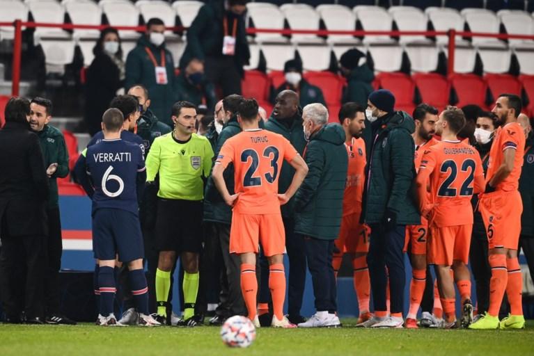 """Voorzitter van Basaksehir wil """"levenslange schorsing"""" voor Roemeense scheidsrechter na racismerel in Champions League"""