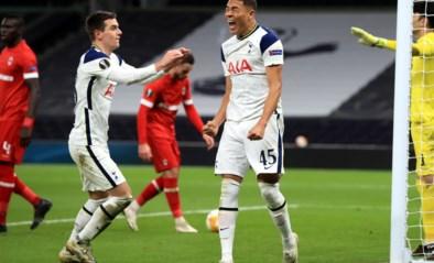 Antwerp mist eerste plek na nederlaag tegen Tottenham, maar verlaat Londen met opgeheven hoofd