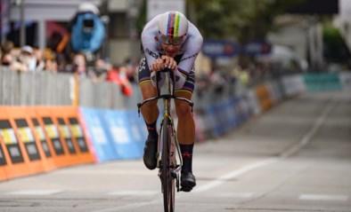 """Filippo Ganna staat voor grote(re) uitdaging dan Van Aert en Evenepoel: """"De piste laten vallen is geen optie"""""""