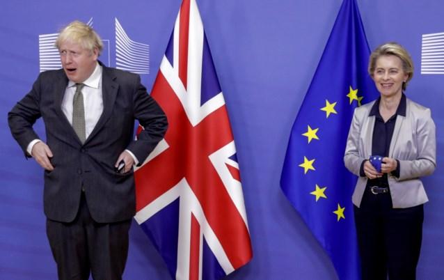 Nog hoop op Brexit-akkoord? Boris Johnson en Ursula von der Leyen bellen elkaar op de middag