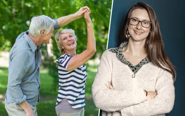 """Gerontologe Charlotte Brys wil negatieve beeld dat we hebben van ouderen bijsturen: """"Men associeert hen nog altijd met aftakelen"""""""