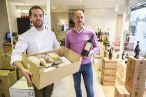 Dagelijkse kost of gastronomie met wijntje bij in pop-up Fruithoflaan