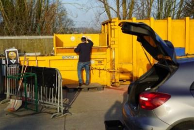 Vrees voor lange wachtrijen: wanneer zijn recyclageparken open tijdens kerstvakantie?
