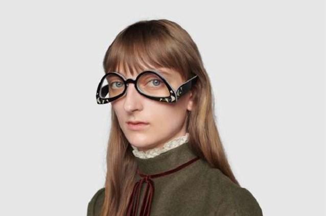 Omgekeerde bril van Gucci wordt op heel wat gelach onthaald