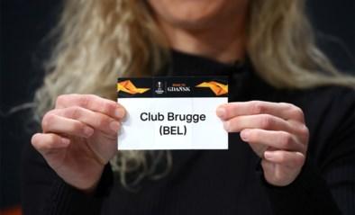 LIVE LOTING. Wie treffen Club Brugge en Antwerp in de Europa League?