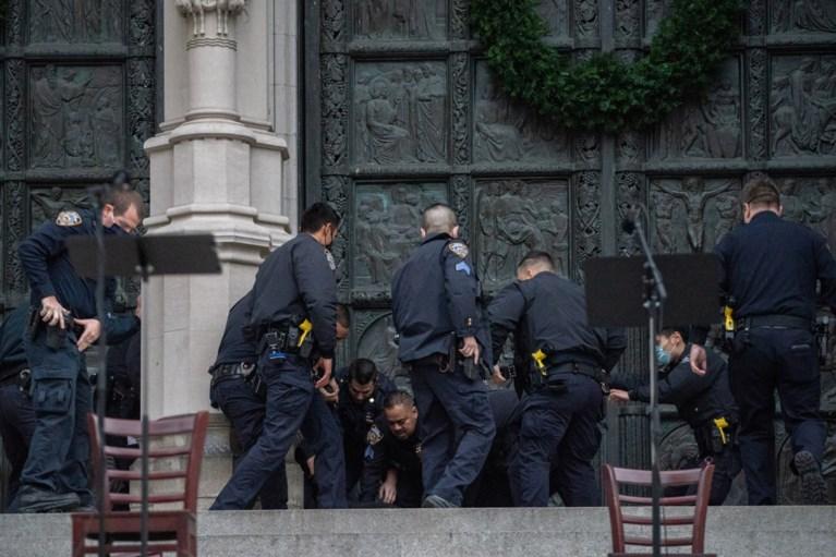 Politie New York doodt schutter die vuur opende op bezoekers van kerstconcert