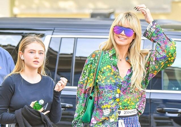 Dochter Heidi Klum debuteert als topmodel