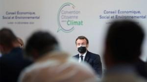 Franse president Macron kondigt referendum aan over opname klimaatstrijd in grondwet