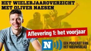 """HET WIELERJAAROVERZICHT. Oliver Naesen: """"Ik had net de ambulance ondergekotst en toen ik uitstapte, zag ik ook Pascal Ackermann overgeven."""" Aflevering 1 staat online!"""