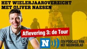 """HET WIELERJAAROVERZICHT. Oliver Naesen over de Tour: """"Op een col heb ik een irritante fan zijn bril afgepakt en weggesmeten. Ik hoop dat het een dure was."""" Aflevering 3 staat online!"""