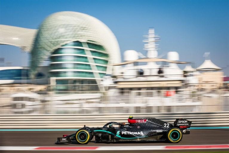 Stoffel Vandoorne zet met zijn Mercedes derde tijd neer in Abu Dhabi, Mick Schumacher stelt teleur