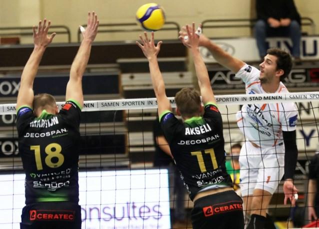 Menen klopt Aalst en klimt naar derde plaats in EuroMillions Volley League