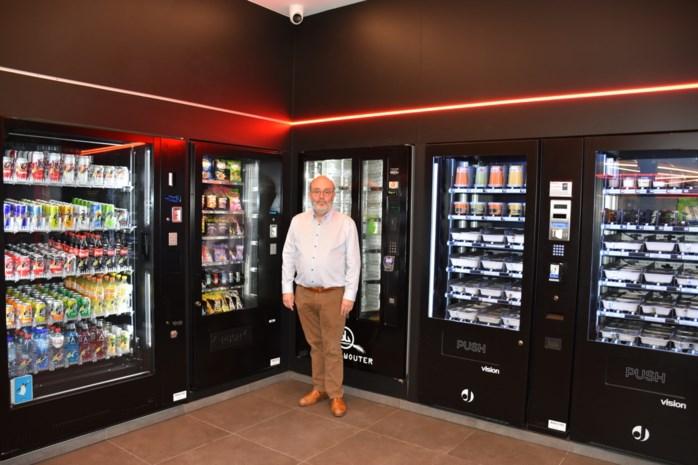Tankstation met automatenshop: van verse pizza's tot bestelwagens