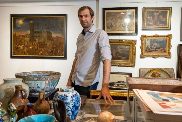 Schilderij Maneblussers verkocht voor recordbedrag van 62.000 euro