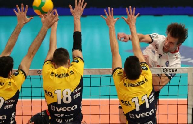 Roeselare kan net niet stunten tegen Modena in Champions League volleybal