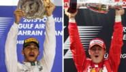 Speciale eer voor Michael Schumacher en Lewis Hamilton op prijzengala FIA