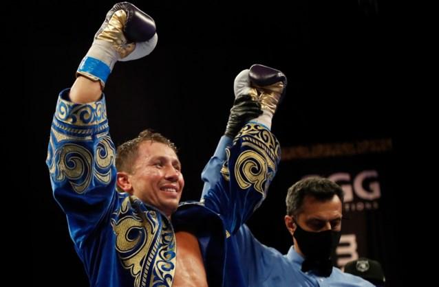 Gennady Golovkin behoudt IBF-titel bij middengewichten voor de 21ste (!) keer