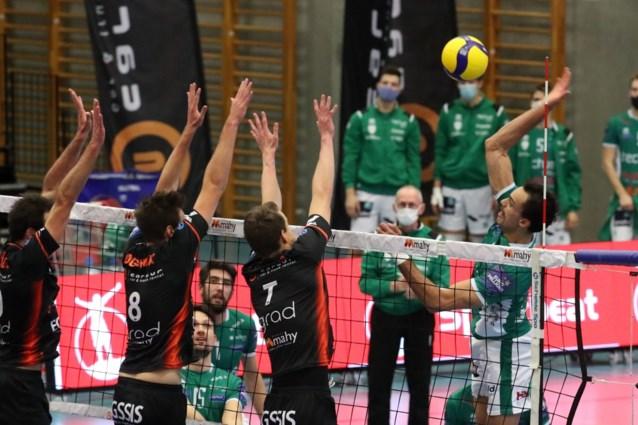 Blanco seizoen in nationale en promoreeksen van het Belgische volleybal