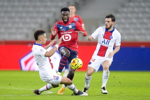 Koploper Lille en landskampioen PSG scoren niet in flauwe Franse topper