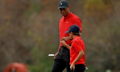 Tiger en Charlie Woods worden zevende op PNC Championship golf, team Thomas wint