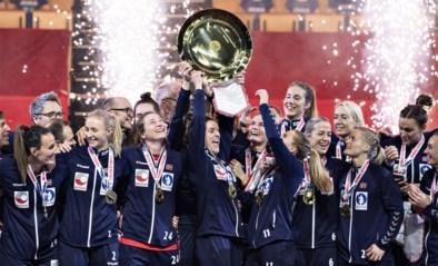 Noorse vrouwen pakken achtste Europese titel handbal