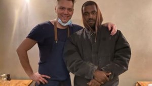 """Kanye West brengt bezoekje aan Antwerps restaurant: """"Hij testte negatief op Covid-19, maar positief op ons eten"""""""