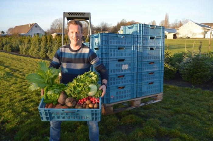 Tuinbouwschool Horteco schenkt groenten aan armoedeorganisatie