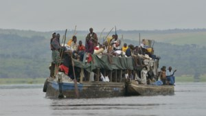 Zeker 33 doden bij schipbreuk op Albertmeer in Congo