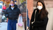 Hip in winters weer: Katie Holmes geeft drie keer het stijlvolle voorbeeld