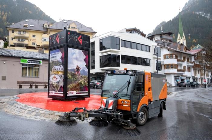 """Waarom skioord Ischgl op slot blijft, ook al is het """"nergens veiliger"""""""