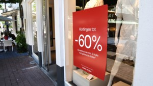 Solden met onzekerheid van start: 70 procent houdt rekening met lagere verkoop