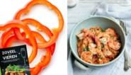 RECEPT. Scampi diabolique met fijne groentjes