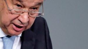 """VN-baas Antonio Guterres: """"Klimaatverandering en Covid-19 kunnen alleen worden aangepakt als we samenwerken"""""""