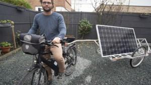 """Zonnefietser Benoit (39) wil draad oppikken nadat corona plannen dwarsboomde: """"Ik zal mijn reis afmaken, zeker weten"""""""