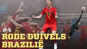 """EINDEJAARSPOLL #4. Rode Duivels stunten tegen Brazilië in kwartfinale op het WK 2018: """"De match waar een 'kwartgeneratie' plots een gouden generatie werd"""""""